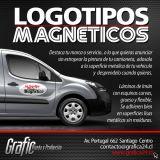 Logotipos magnéticos para camionetas - Grafica24